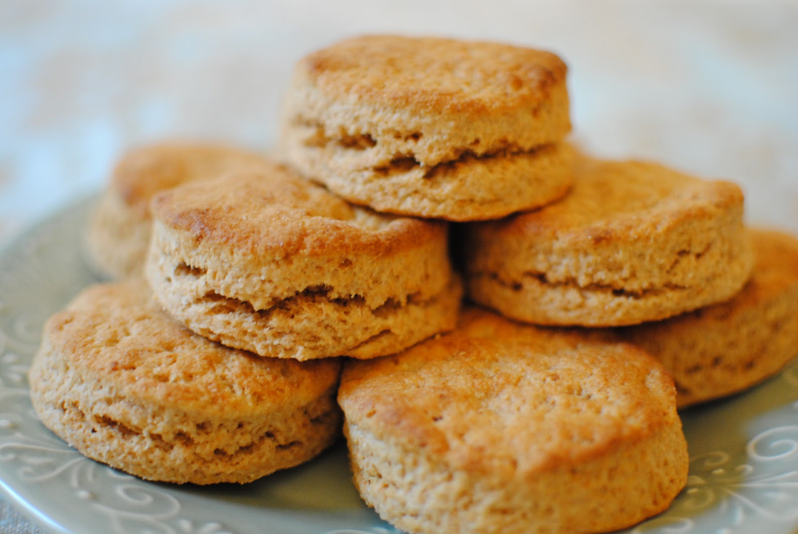 Whole Wheat Whipping Cream Biscuits | Baking Whole Grains