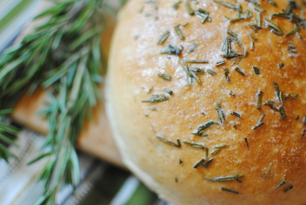 Rosemary Peasant Bread | Baking Whole Grains
