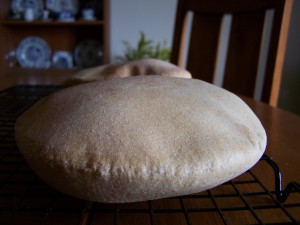 Pitas Puffed