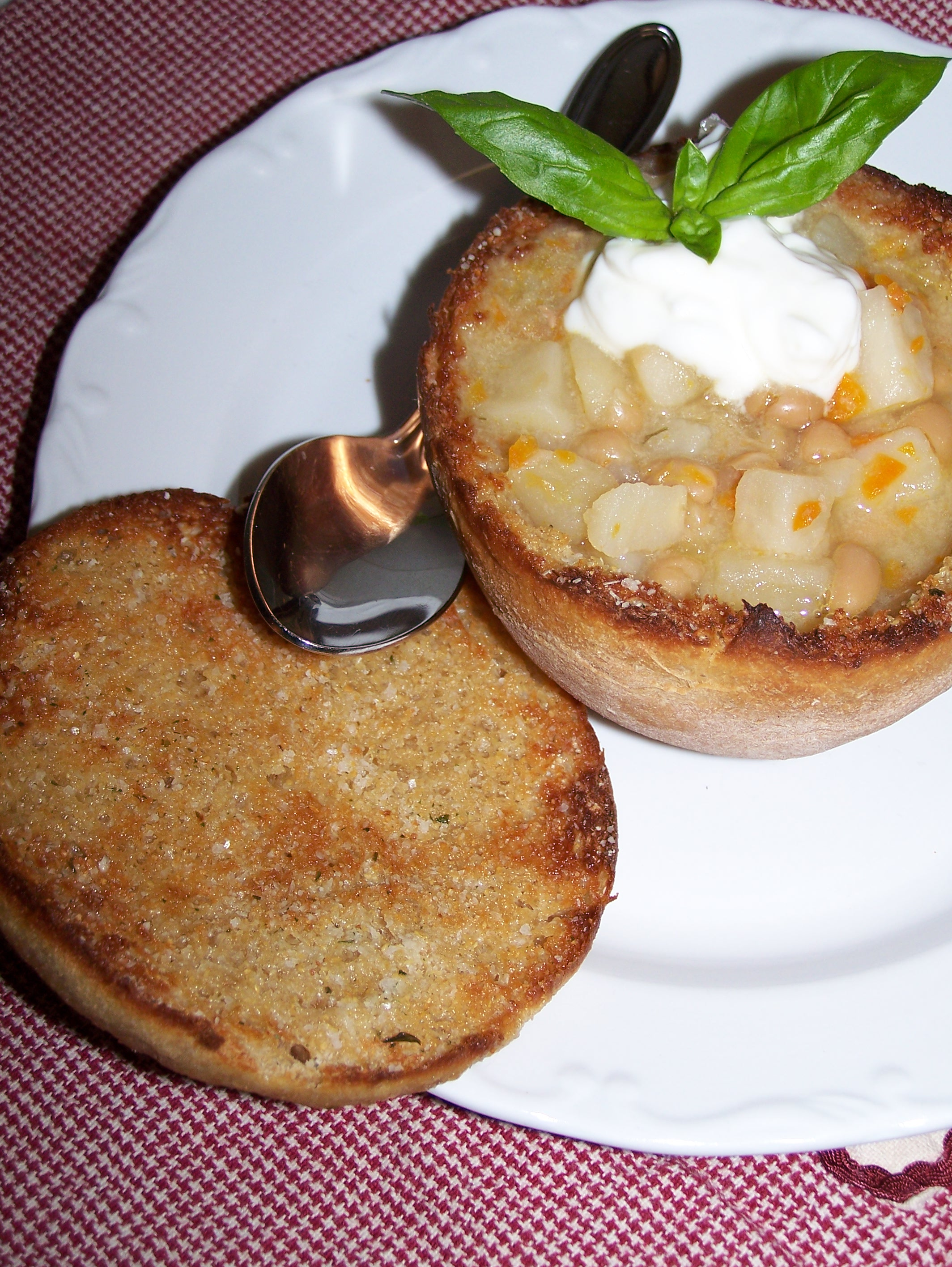 Best Bread Bowl with Soup