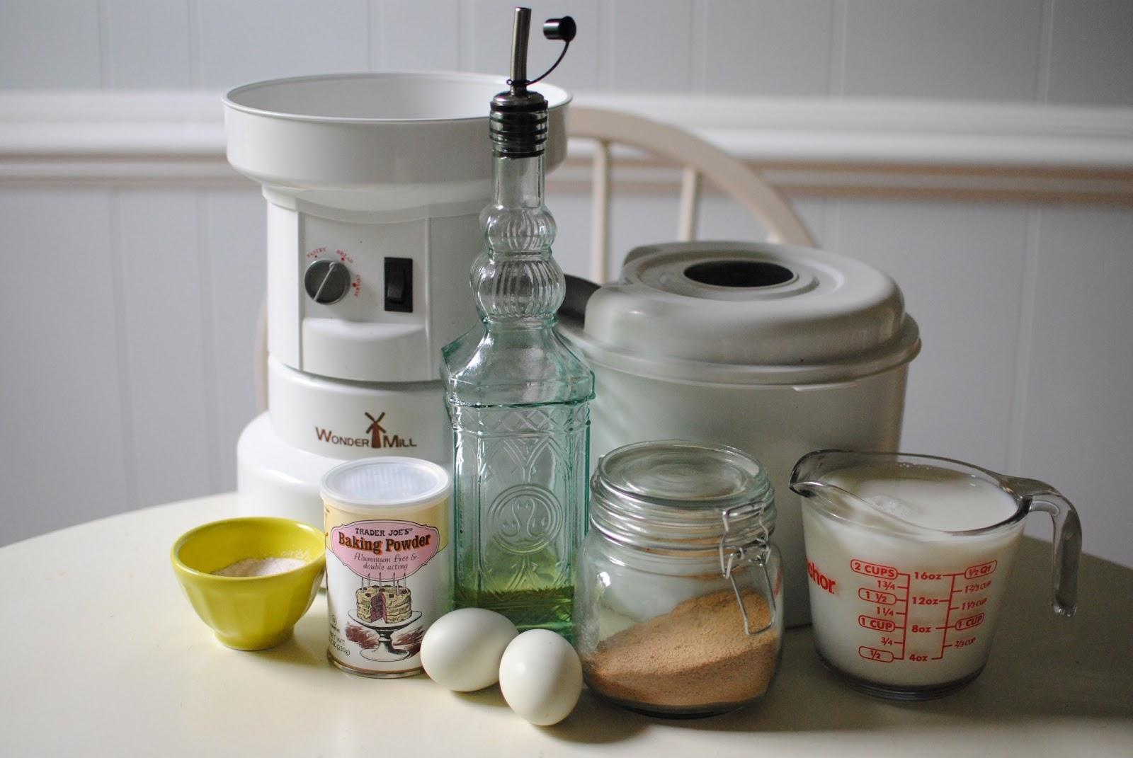 Whole Wheat Pancakes with Strawberry Sauce | Baking Whole ...