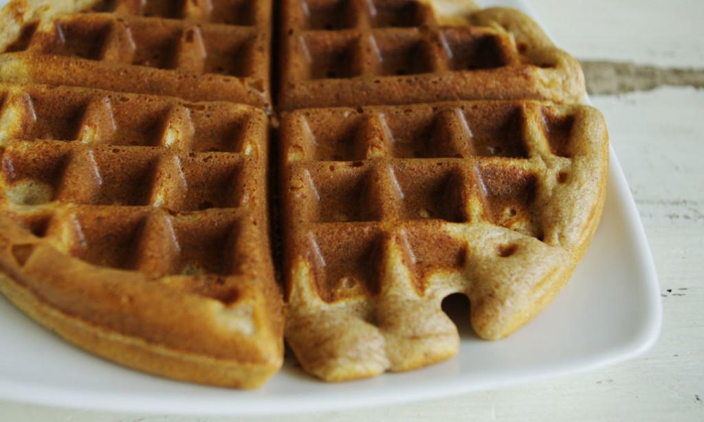 Ricotta Spelt Waffles | Baking Whole Grains