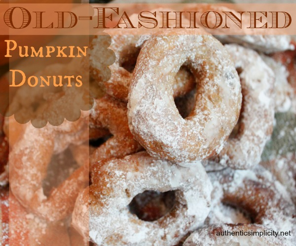 Old Fashioned Pumpkin Donut Holes