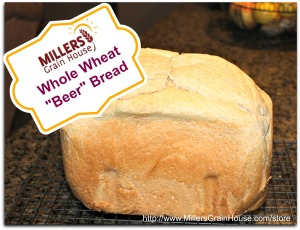 Whole Wheat Beer Bread