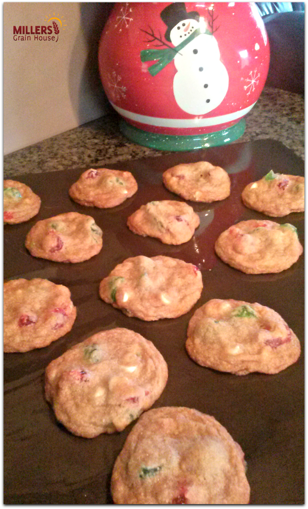 Very Cherry Christmas Cookies Baked
