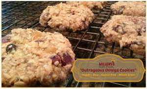 Outrageous Omega Cookies