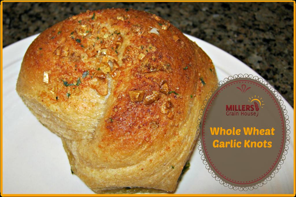 Whole Wheat Garlic Knots