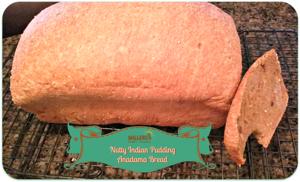 Nutty Indian Pudding Anadama Bread