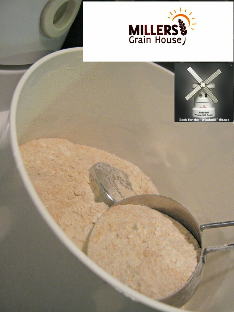 Wondermill with Flour